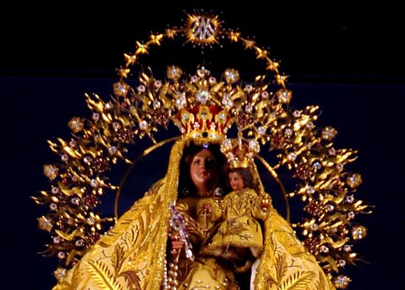 Virgen de la Caridad del Cobre. Foto: Ladyrene Pérez/Cubadebate.