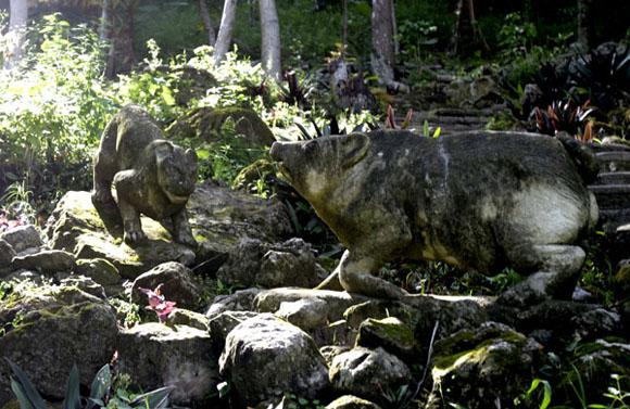 Zoológico de piedra. Foto: Ismael francisco/Cubadebate