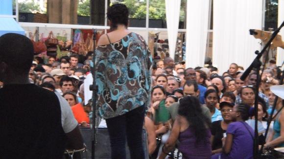 En el reino de la canción. Foto: Marta Valdés/ Cubadebate