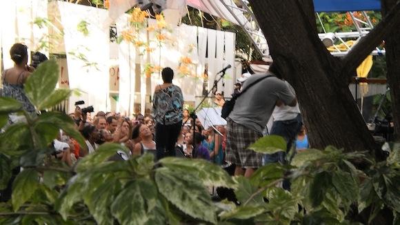 Hacer más bello el camino. Foto: Marta Valdés/ Cubadebate