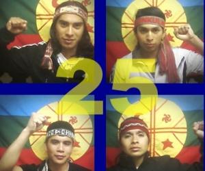 Los presos mapuches llegan al mes en huelga de hambre
