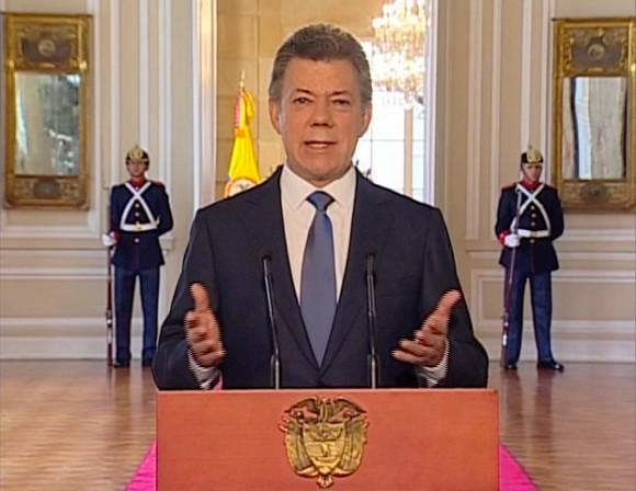Juan Manuel Santos. Foto: Presidencia el Gobierno Colombia
