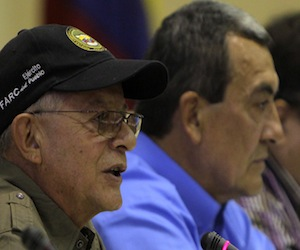 FARC llaman a colombianos a participar en proceso de paz