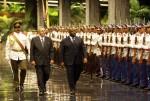 Recibe el presidente cubano Raúl Castro a su homólogo de la República Gabonesa, Ali Bongo Ondimba. Foto: Ismael Francisco/Cubadebate.