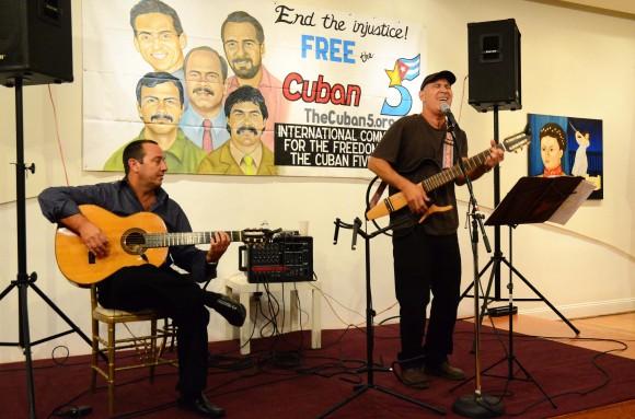 Voces de Cuba por los Cinco en Washington DC