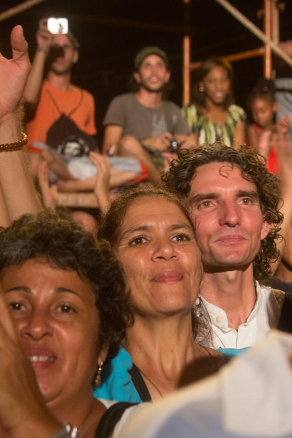 Emoción de cara a la escena. Foto: Jorge Ramírez.