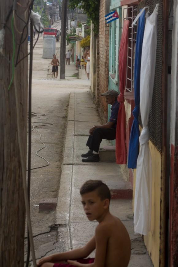 Dobarganes, antiguo barrio de soldados de la dictadura, famoso por sus bares. Foto: Jorge Ramírez