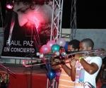 Concierto de Raúl Paz en Bayamo. FOTO: AIN