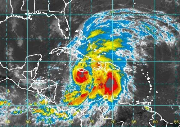 Última imagen. Hora local: 12:00. Instituto de Meteorología.