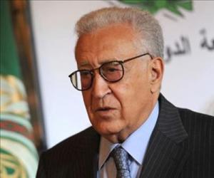 Brahimi, enviado especial de la ONU a Siria.