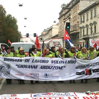 3.- Brigada de trabajo voluntario Giovanni Ardizzone
