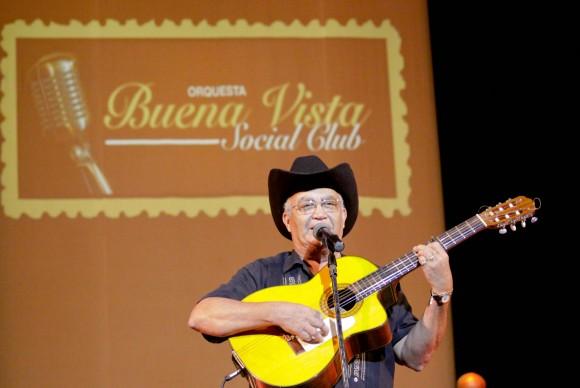 Eliades Ochoa. Foto: Alejandro Ramírez Anderson