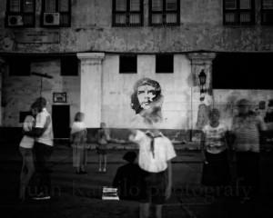 Fotografía de Juan Camilo Cruz en la exposición Eternamente Che.