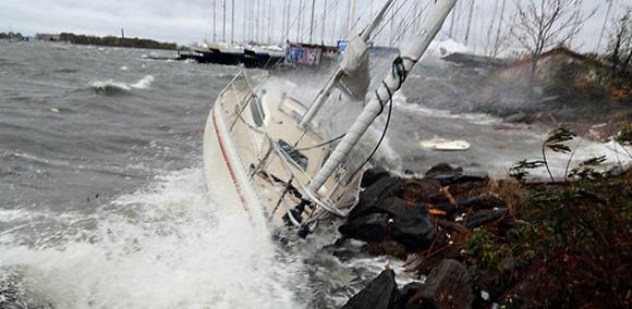 Una embarcación en City Island. Foto: Librado Romero/New York Times.