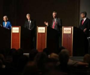 Cuatro candidatos piden elecciones libres en Estados Unidos. Foto: El Universal.