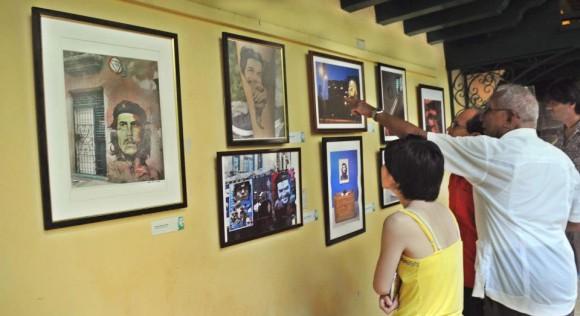 Exposición Eternamente Che. Foto: Juvenal Balán