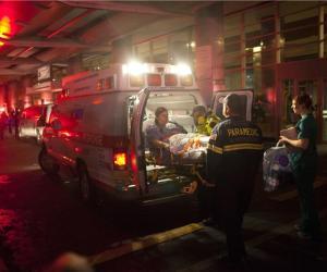 Evacuación en Hospital universitario de New York
