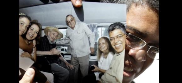 Elias Jaua: Fidel está muy bien