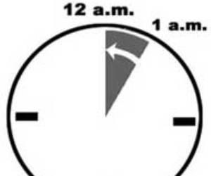 Regirá el horario normal desde el próximo domingo 2 de noviembre