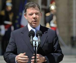 Juan Manuel Santos. Foto: Archivo Telesur
