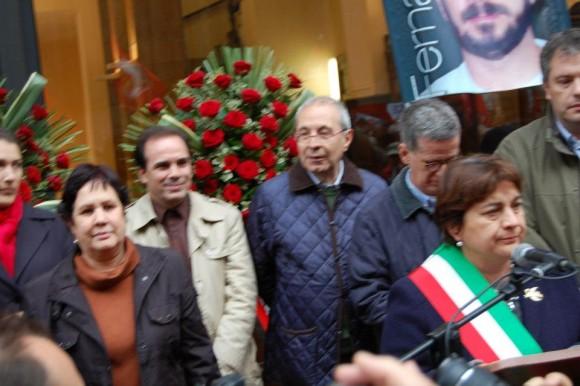 La Embajadora de Cuba en Italia y la Alcaldesa