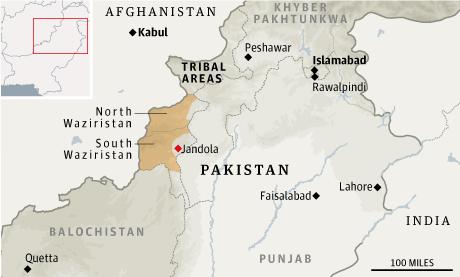 Mapa de Paquistán. /The Guardian