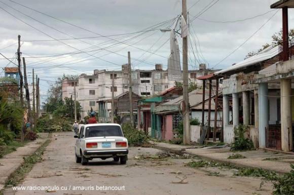 Mayarí tras el paso del Huracán Sandy