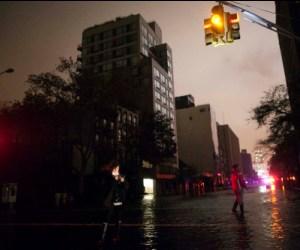 Nueva York amanece tras paso de Sndy