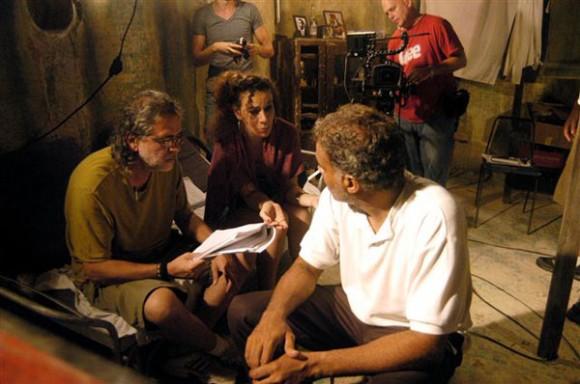En la foto de izquierda a derecha: Charlie Medina, Ismercy Salomón y Omar Franco. Foto: La Jiribilla