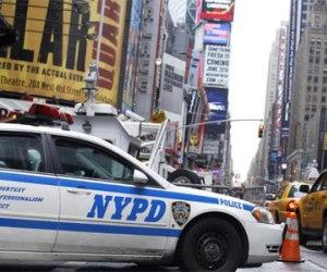 carro de la policía en EE.UU.
