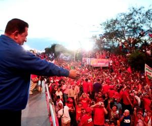 Presidente Chávez en Lara