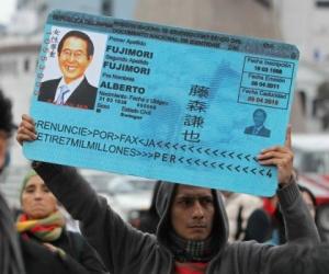 Protestas contra indulto a Fujimori. Foto: El País