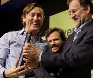 Rafael Hernándo y Mariano Rajoy