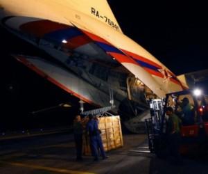 Rusia envía ayuda humanitaria a Cuba