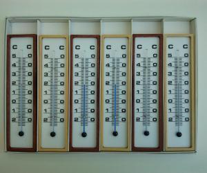 Termómetro atmosférico