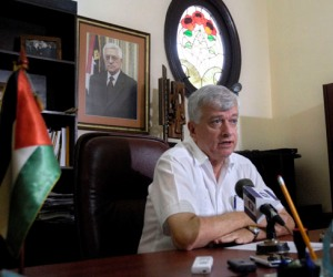 Akram Samhan, embajador de Palestina en Cuba.
