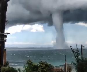 Tornado provoca naufragio y 12 fallecidos en Filipinas
