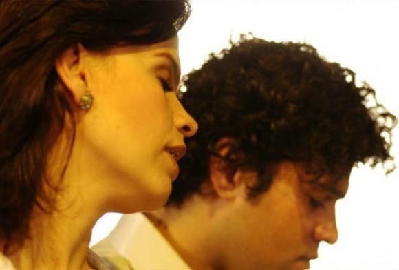 Luis Felipe Gama, pianista, arreglista y compositor, y su inseparable Ana Luiza -más que una cantante un alma llena de voz o una voz llena de alma