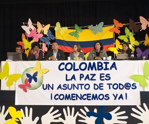 Colombia: Cierra hoy quinto ciclo de diálogo de paz