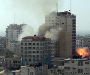 Al Sharouk, en el centro de Gaza. Foto: RT