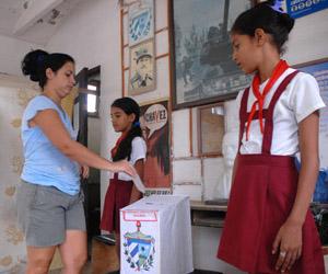 CUBA-SEGUNDA VUELTA DE ELECCIONES DEL PODER POPULAR EN HOLGUIN