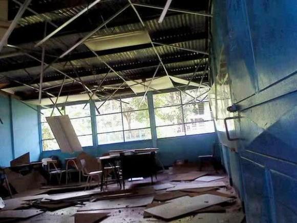 Escuela en San Marcos. Foto: Dixon Vázquez