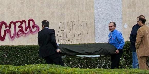 Suicidio, España. Noviembre 28, 2012.
