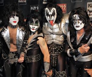 """El mítico grupo de rock """"Kiss"""""""