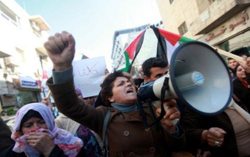 Manifestaciones de apoyo a Palestina.