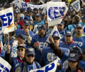 policias se manifiestan en-madrid