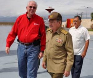 Raúl Castro recibe a delegación venezolana de alto nivel