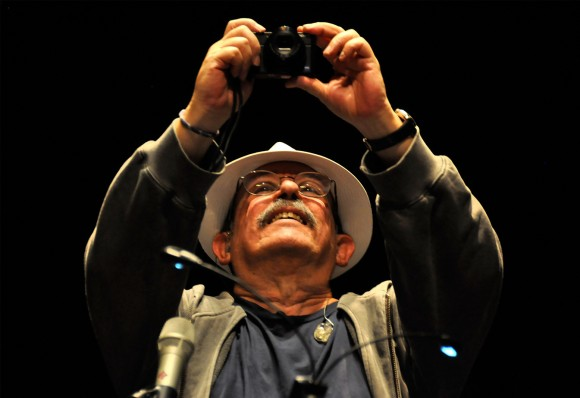 Silvio en el histórico Luna Park, de Buenos Aires, ante ocho mil personas. Foto: Kaloian.