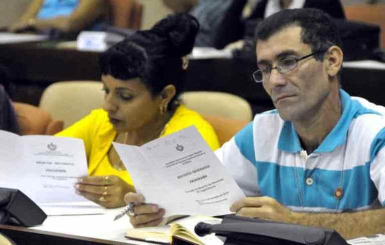 Comisión de Asuntos Constitucionales y Jurídicos de la Asamblea Nacional del Poder Popular. FOTO: AIN
