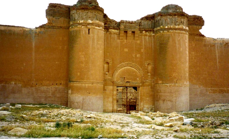 El plació de Al-Hir Al-Sharqi. FOTO: SANA